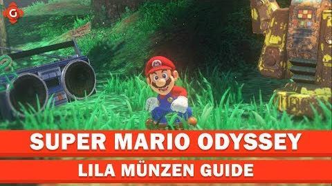 Video Super Mario Odyssey Alle Sammelobjekte Lila Münzen