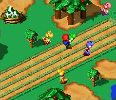 Boshi Race Screenshot - Super Mario RPG