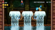 El castillo Torpedo de Larry lucha contr Larry (NSMB.U)