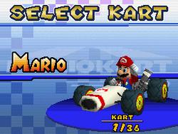 B Dasher (Mario Kart DS)