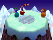 Bumper Balls Level 2 - Mario Party 2