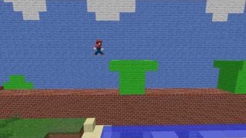 If Mario Played Minecraft