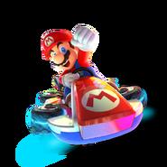 MK8 Deluxe Art - Mario (transparent)