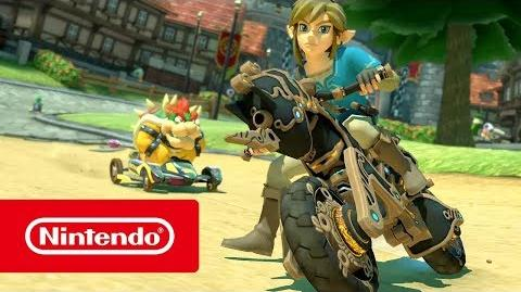 Mario Kart 8 Deluxe X The Legend of Zelda Breath of the Wild