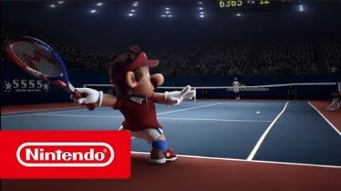 Mario Tennis Aces - Rafael Nadal VS Mario face-à-face de stars ! (Switch)
