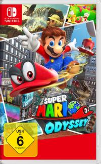 Super Mario Odyssey Packshot