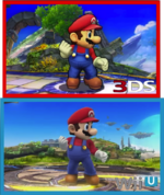 Vergleich Mario SSB4