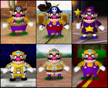 Wario Mario Party 2