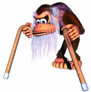 Cranky Kong (Donkey Kong Country 2)