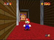 Cuadro Bowser Super Mario 64