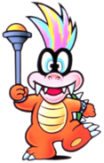 Iggy Koopa Artwork - Super Mario Bros. 3