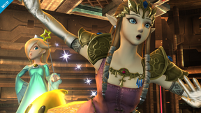 SSB4 Wii U - Rosalina Zelda