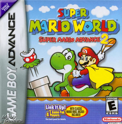 Super Mario Advance 2 - North American Boxart