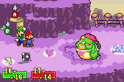 Tolstar Battle - Mario and Luigi Superstar Saga