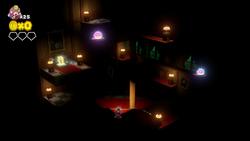 CTTT Screenshot Wenig Licht und viele Geister