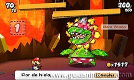 Inicio de la batalla contra Floro Piraña PM-SS