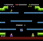Mario Bros. - Two Player Mode - Start