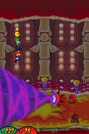 Aurelia MLVCB ayudando a Mario y Luigi