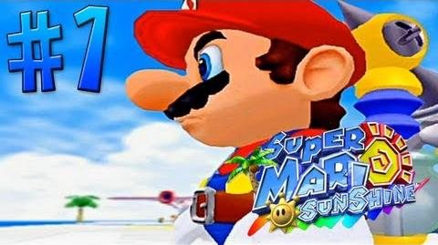 Let's Play Super Mario Sunshine - 01 - Isle Delfino!