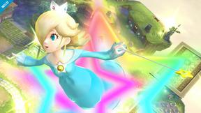 SSB4 Wii U - Rosalina Launch Star