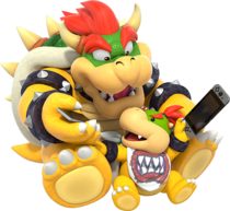 Bowser et Jr Switch 2