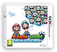 Carátula Mario & Luigi Dream Team Bros