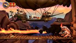 DKCR Screenshot 6-B Garstlis Hochhaus (Nach 3 Treffern)