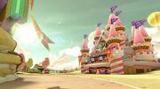 MK8D Screenshot Zuckersüßes Schloss
