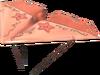 MKT Aile en papier d'or rose