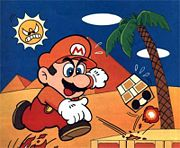 Mario en el Desierto