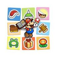 Paper Mario Sticker Star (Items)