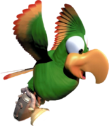 Squawks Art (Donkey Kong Country)