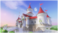 Peach's Castle side view