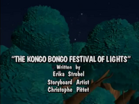The Kongo Bongo Festival of Lights
