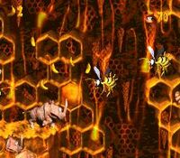 DKC2 Screenshot Rambizamba