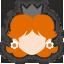 Icône Daisy noir Ultimate