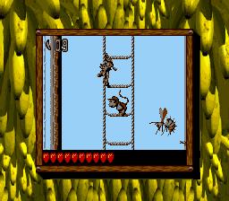 Mainbrace Mayhem - Rope Climbing - Donkey Kong Land 2