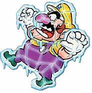 WL4 Artwork Frost-Wario