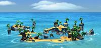 DKCTF Screenshot Ozetanien (Insel)