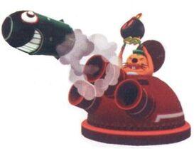 Monty Mole Tank