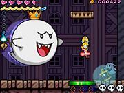King boo en super princesa peach