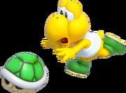 Koopa Troopa Artwork - Super Mario 3D World