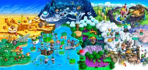 Mapa New! Super Mario Bros U