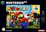 Jaquette PAL Mario Golf 64