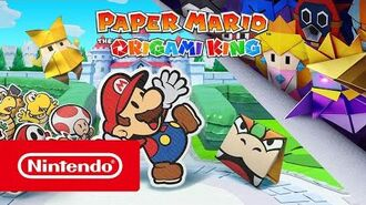 Paper Mario The Origami King - Ankündigungs Trailer