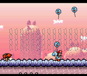 SMW2 Screenshot Buu Ballon