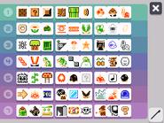 SuperMarioMaker3DS - selección de items