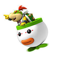 Bowser Jr. en NSMBWii
