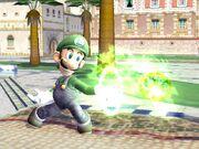SSBB Screenshot Luigis Feuerball