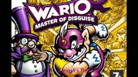 Wario Master of Disguise Music Cannoli's Theme